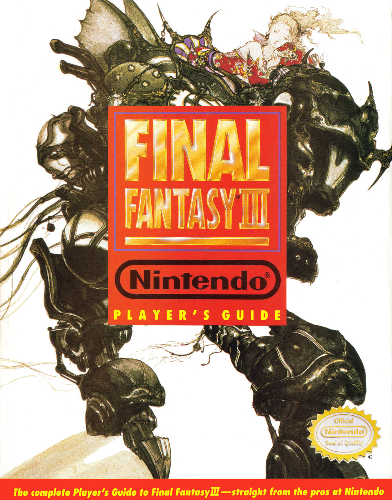 Final Fantasy III Nintendo Player's Guide