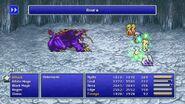 Rydia using Asura Curaga from FFIV Pixel Remaster