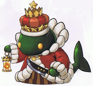 WoFF Tonberry King Artwork