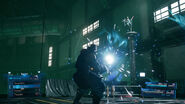 Barrets Focused Shot ability from FFVII Remake