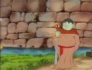 Captain N - Friar Astos Sword