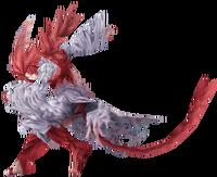 Trance Kuja, from Dissidia Final Fantasy.