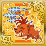 FFAB Blood Fang - Red XIII SR+