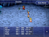 Final Fantasy Dimensions support abilities