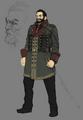 Heidegger artwork for Final Fantasy VII Remake