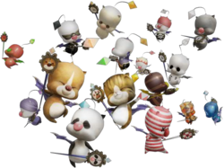 Downloadable costume pack for Mog from Final Fantasy XIII-2.