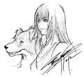 DFFNT Rinoa Heartilly Nomura sketch