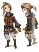 Luneth FFIII DS Yoshida Art