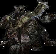FFXIII enemy Kaiser Behemoth