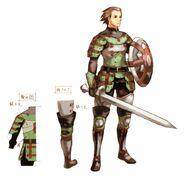Leather Armor FFXI Art