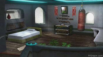 Zell's room