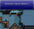 FFVI Unobtainable Sprint Shoes