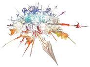 FFXIV logo original art