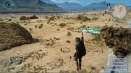 Suspended after point-warping in FFXV