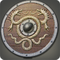 Viper-crested Round Shield from Final Fantasy XIV icon