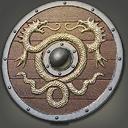 FFXIV Viper-crested Round Shield Icon