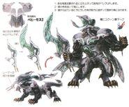 Behemoth Cocoon FFXIII Art