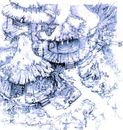 Black Mage Village FFIX Art 2.jpg