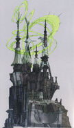 Etro's temple concept art