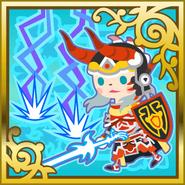 FFAB White Fang - Warrior of Light SR