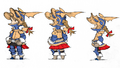 Refia Dragoon concept art 2 for Final Fantasy III 3D