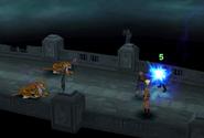 Torama uses Thunder from FFVIII Remastered