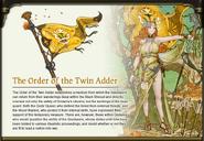 Twin Adder Banner Art