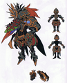 WoFF Plumed Knight Artwork
