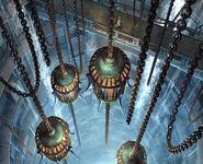 Bevelle prison cells