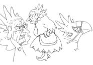 Chocoimo sketches 2 for Final Fantasy Unlimited