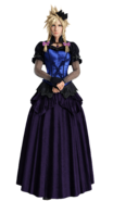 Cloud dress 2 from FFVII Remake render