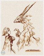 EarlyFFIX-Dragon talk