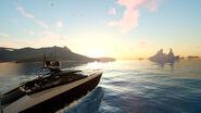 FFXV ride boat