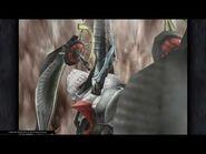 Ark's Eternal Darkness summon attack from FFIX Remastered
