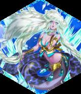 FFDII Glacial Lamia Matriarch Blizzard Song II Crystal
