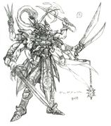 Gilgamesh FFV Art (transformed)