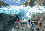 Great Salt Lake entrance from FFVIII Remastered