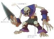 Skeleton FFIX Art