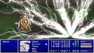 FF4PSP TAY Enemy Ability Judgment Bolt