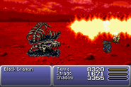 FFVI Flame Scroll Item