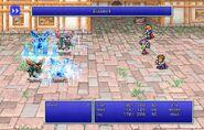 Maria using Blizzard II from FFII Pixel Remaster