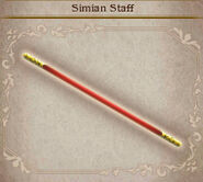 Bravely Default Simian Staff