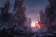 Final Fantasy XV Kingsglaive Ruins