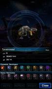 FFBE Tyrannosaur Analyze