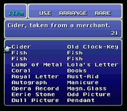 FFVI List of Rare Items