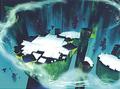 Planet core concept art