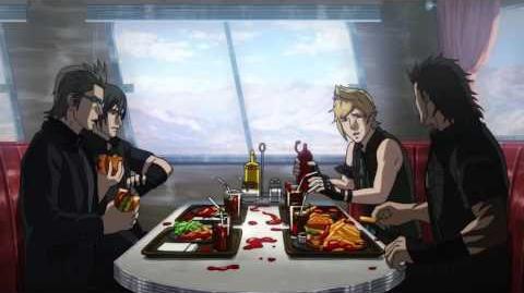 Brotherhood Final Fantasy XV Announcement Trailer