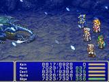 Blue Dragon (Final Fantasy IV 2D)