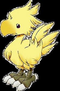 Chocobos aparecem em muitos jogos de Final Fantasy.