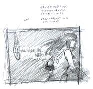 FFVIII Promo Art 8 Sketch